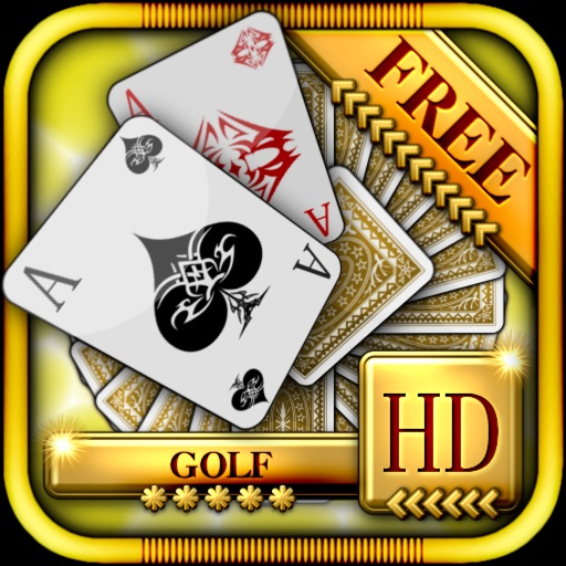 ACC Solitaire [ Golf ] HD Free - Classic Card Game for iPad & iPhone icon