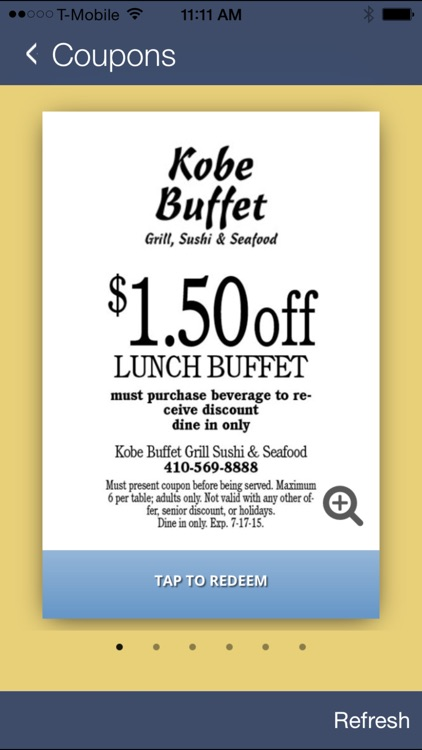kobe buffet bel air by total loyalty solutions rh appadvice com kobe buffet coupons bel air md kobe buffet coupons