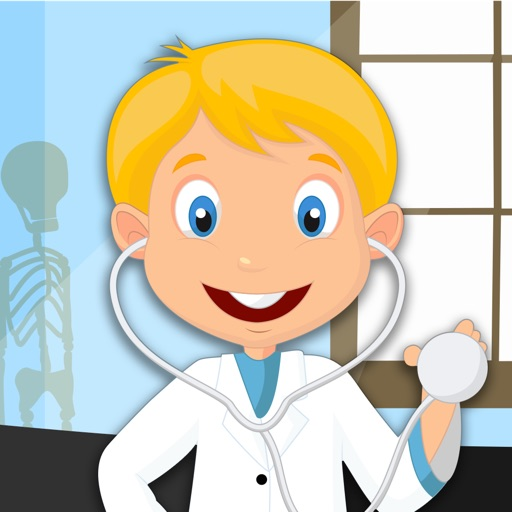Kids Puzzle Teach me Hospital - Learn how to be a doctor or a nurse icon