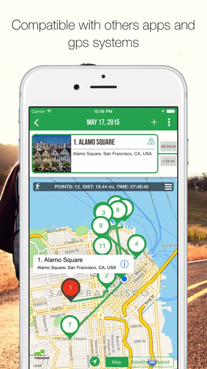 MyTRIPS - Route planner, trip organizer, offline maps, city guides