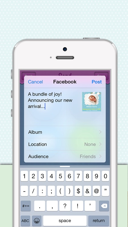 Birth Announcements screenshot-3