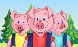Three Little Pigs - Interactive Fairy Tale