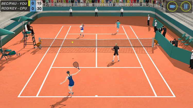 Flick Tennis screenshot-2
