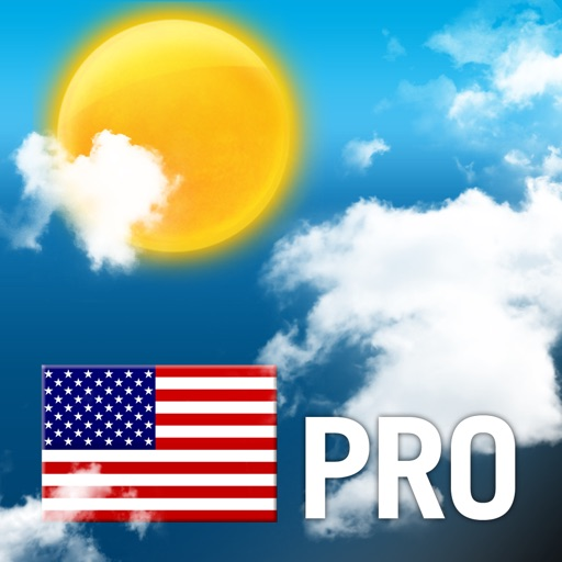 USA Weather forecast Pro