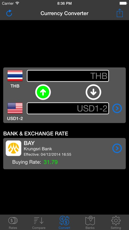 Thai Baht Exchange screenshot-2