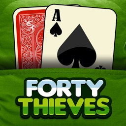 Forty Thieves Solitaire Free Card Game Classic Solitare Solo