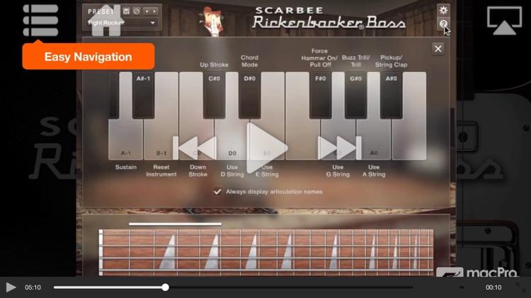 AV for Scarbee Rickenbacker Bass screenshot-3
