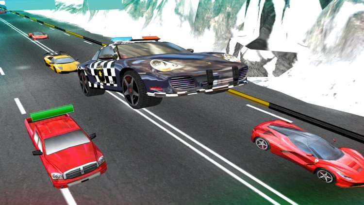 3D Crime Police Chase. Mad City in Crime Car Driving Race Siulator screenshot-3