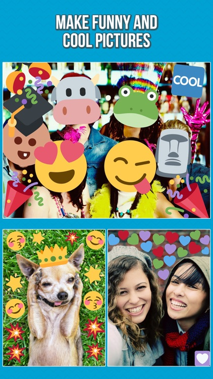 Emoji Photo Editor - Add Emoticon Stickers to your Pictures
