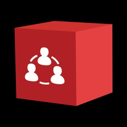 Social Media All In One Red Cube