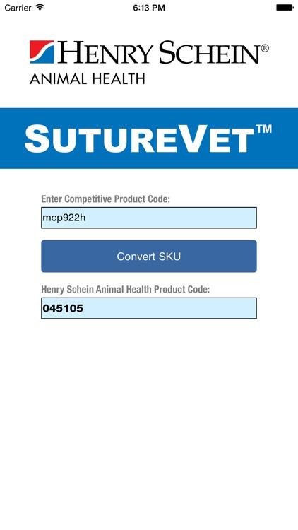 Henry Schein SutureVet™ Tool