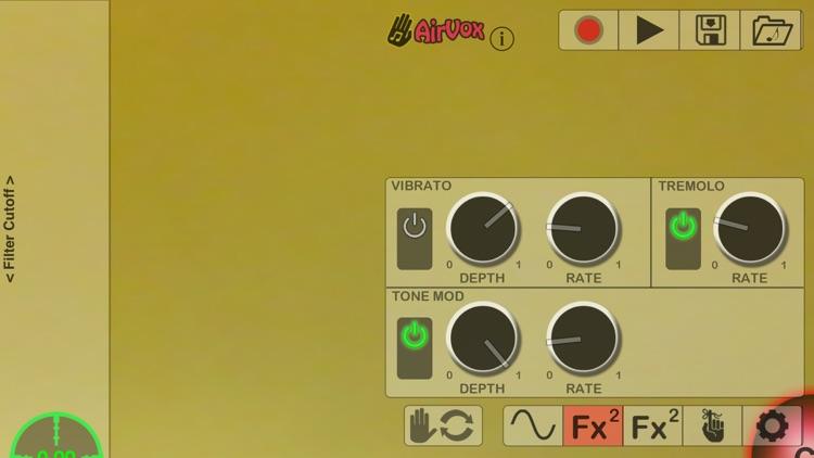 AirVox - Gesture Controlled Music screenshot-3