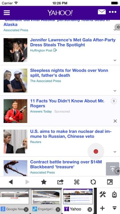 Screenshot #6 for Maven Web Browser Plus - The most ergonomics friendly browser