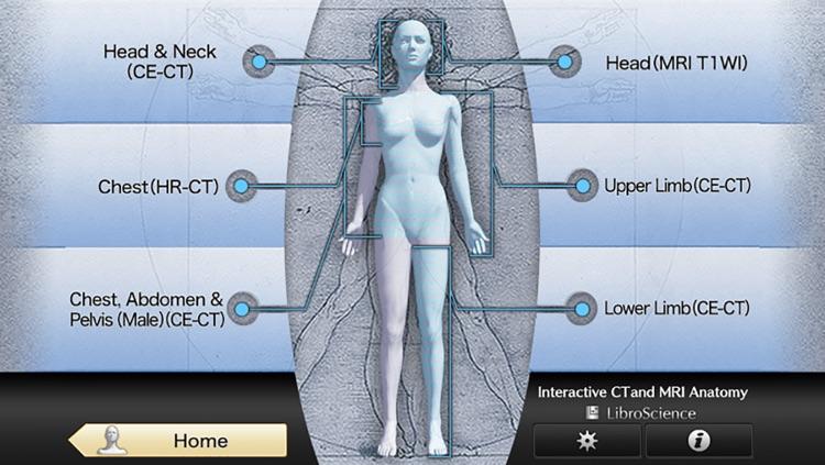 Interactive CT and MRI Anatomy screenshot-3