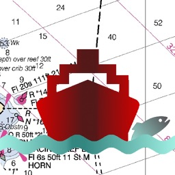 i-Boating: UK/Ireland - Marine / Nautical Navigation Charts for fishing & sailing