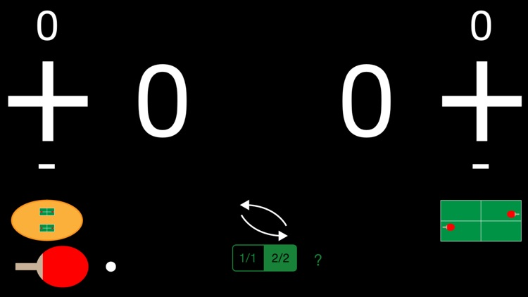Ping Pong/Table Tennis Serve and Score Keeper screenshot-0
