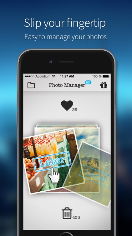 Photo Manager by QX - Slip your fingertip to manage your photos | Free your storage space