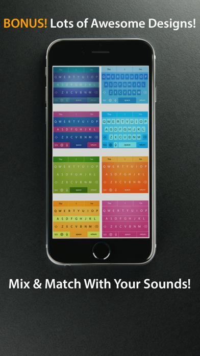 Keezi Keyboards Free - Your Funny Sound Bite.s Keyboard screenshot three