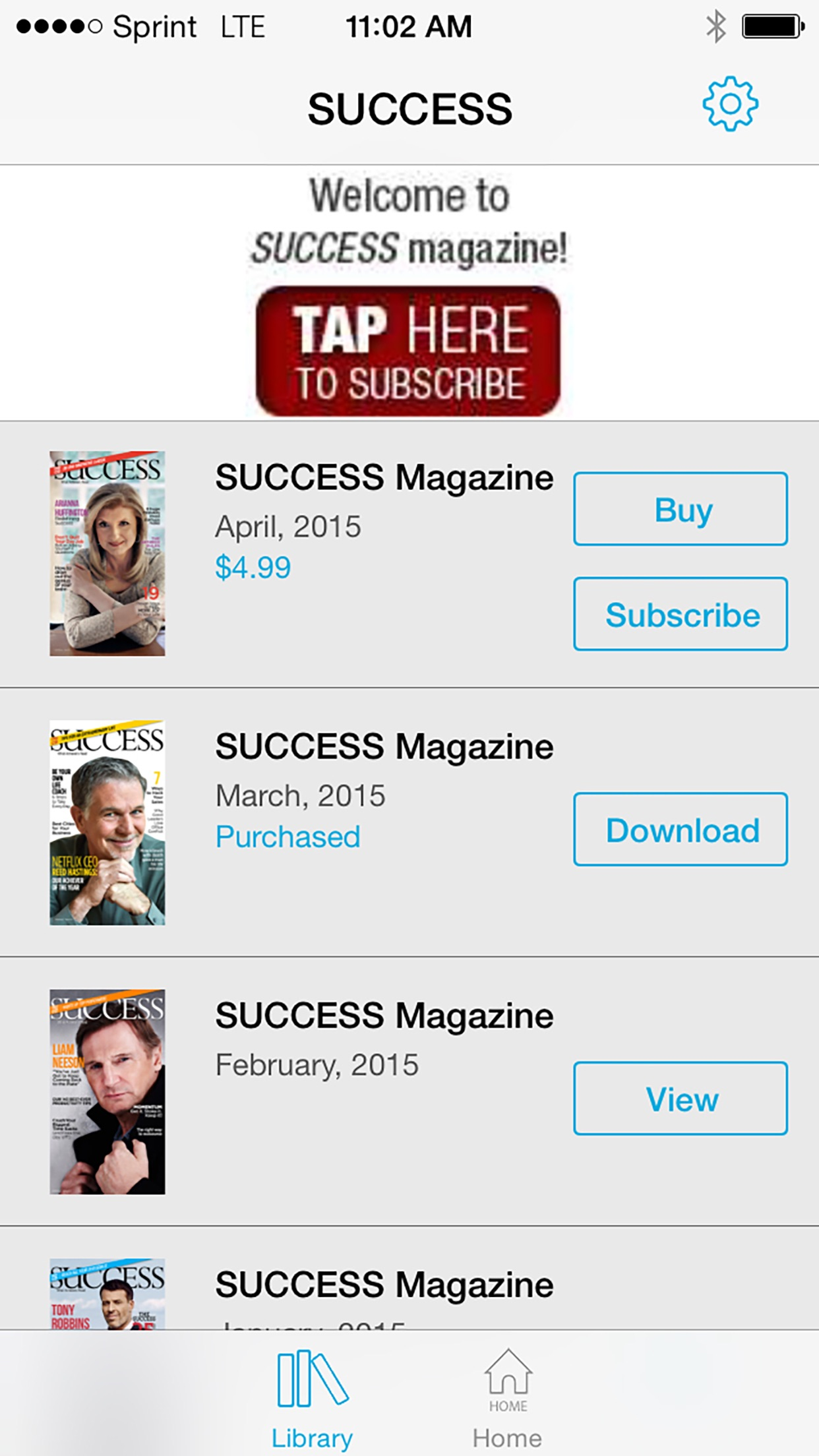 SUCCESS Magazine HD Screenshot