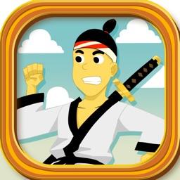 Ninja Shadow Warrior vs Samurai Soldier: Dojo Seige Power Fight