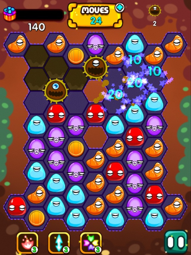 Candy Nest Clash Screenshot