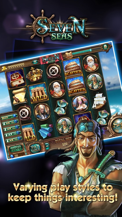 Slots™ - Seven Seas screenshot-0