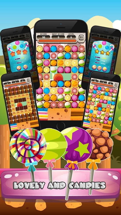 Sweet Candy Blast Legend Mania screenshot-3