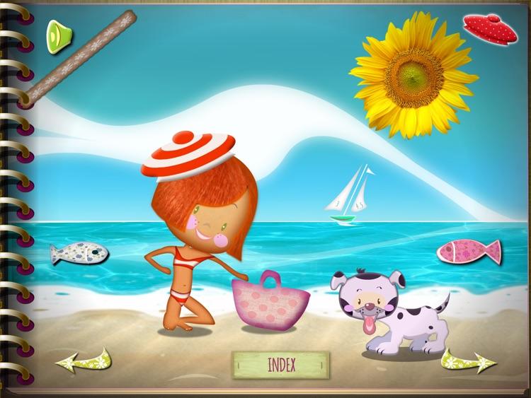 Rose Milany at the beach screenshot-0
