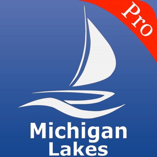 Michigan Lakes Nautical charts pro