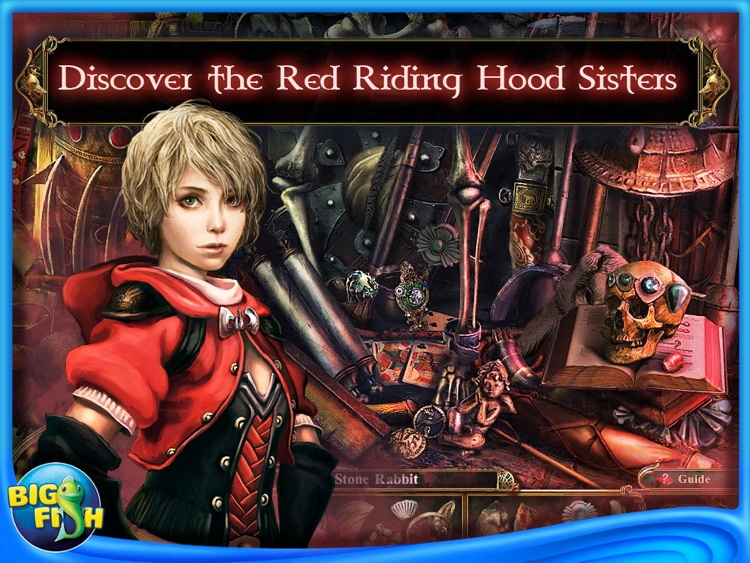 Dark Parables: The Red Riding Hood Sisters HD - A Hidden Object Fairy Tale (Full) screenshot-0