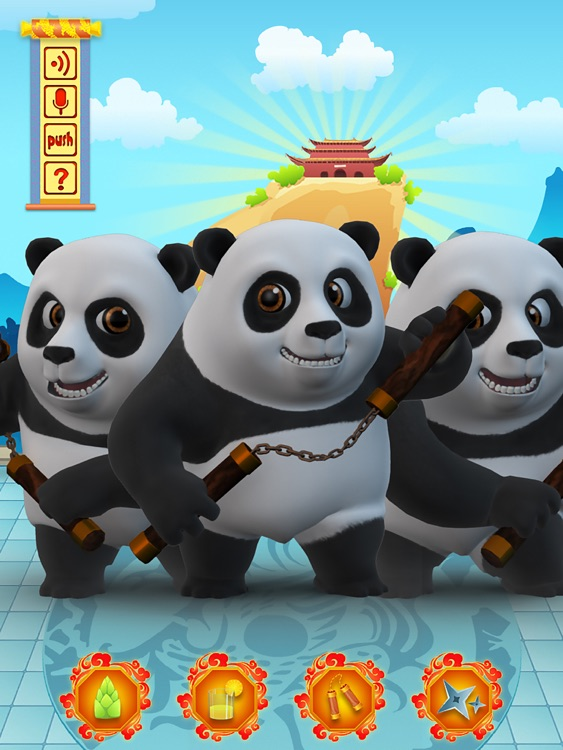 Talking Bruce the Panda for iPad screenshot-2