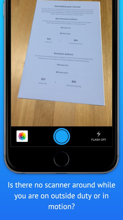 Documents Scanner - scan documents, bill, invoice, memo, or books easily