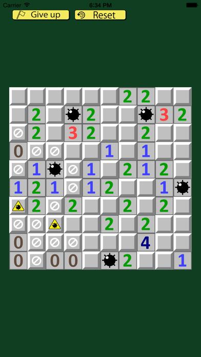 Unopenable Minesweeper screenshot one