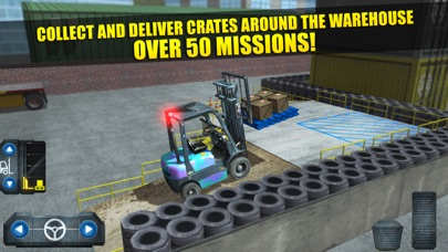 Screenshot from Fork Lift Truck Driving Simulator Real Extreme Car Parking Run