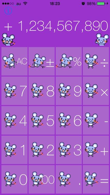 Cute mouse calculator screenshot-4