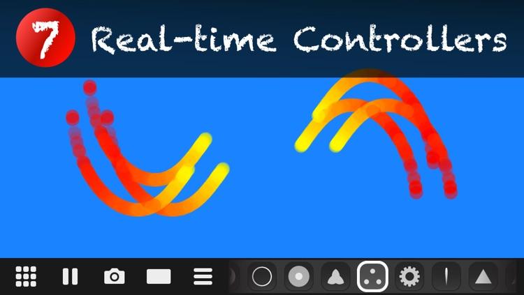 Makanim - Multi-touch Generative Art Graphic Animation screenshot-3