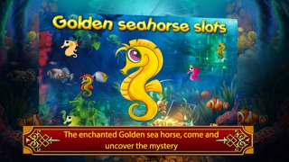 Golden seahorse progressive slotmachine: deep ocean adventure with plenty of treasure! screenshot two