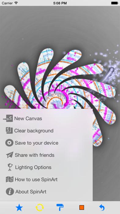 Spinart review screenshots