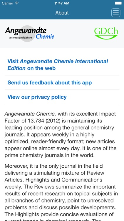 Angewandte Chemie International Edition screenshot-4