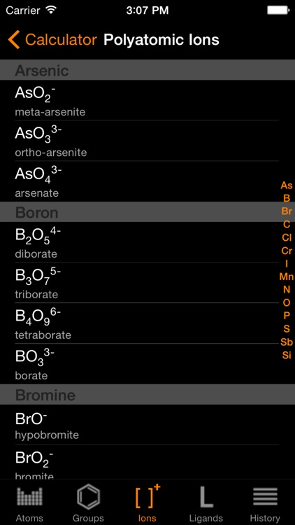 ChemTrix Chemistry Calculator screenshot-4