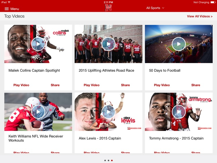 Nebraska Huskers for iPad 2015 screenshot-4