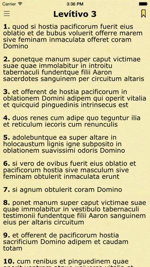 Latin Vulgate (Biblia Sacra Vulgata Latina) on the App Store