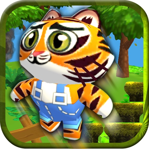 Baby Pet Run - Crazy jump in jungle free game for fun adventure