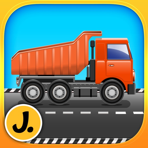 Construction and Transport Vehicles - puzzle game for little boys and preschool kids