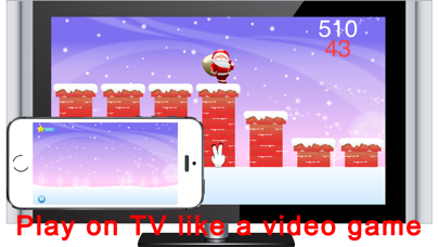 Aha Santa Jump screenshot one