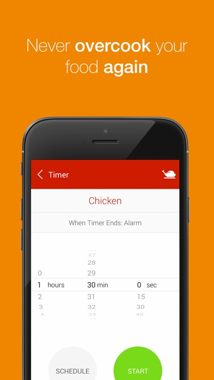 Kitchen Timer - Multiple Timers to Time Your Cooking to Perfection screenshot-3