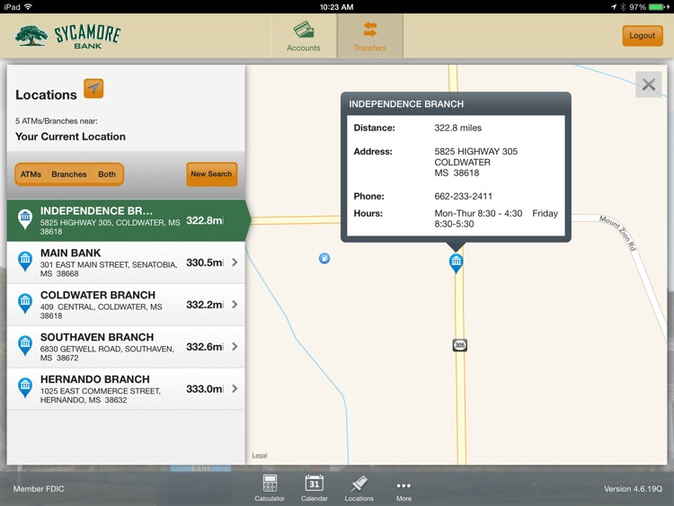 Sycamore Bank for iPad screenshot-4