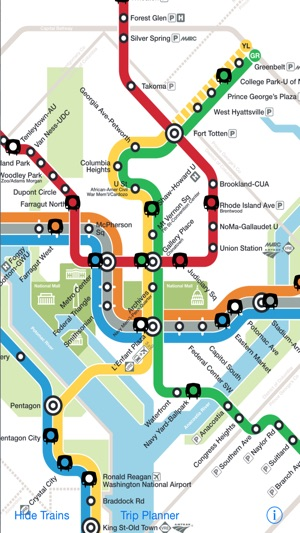 DC Metro Map on the App Store