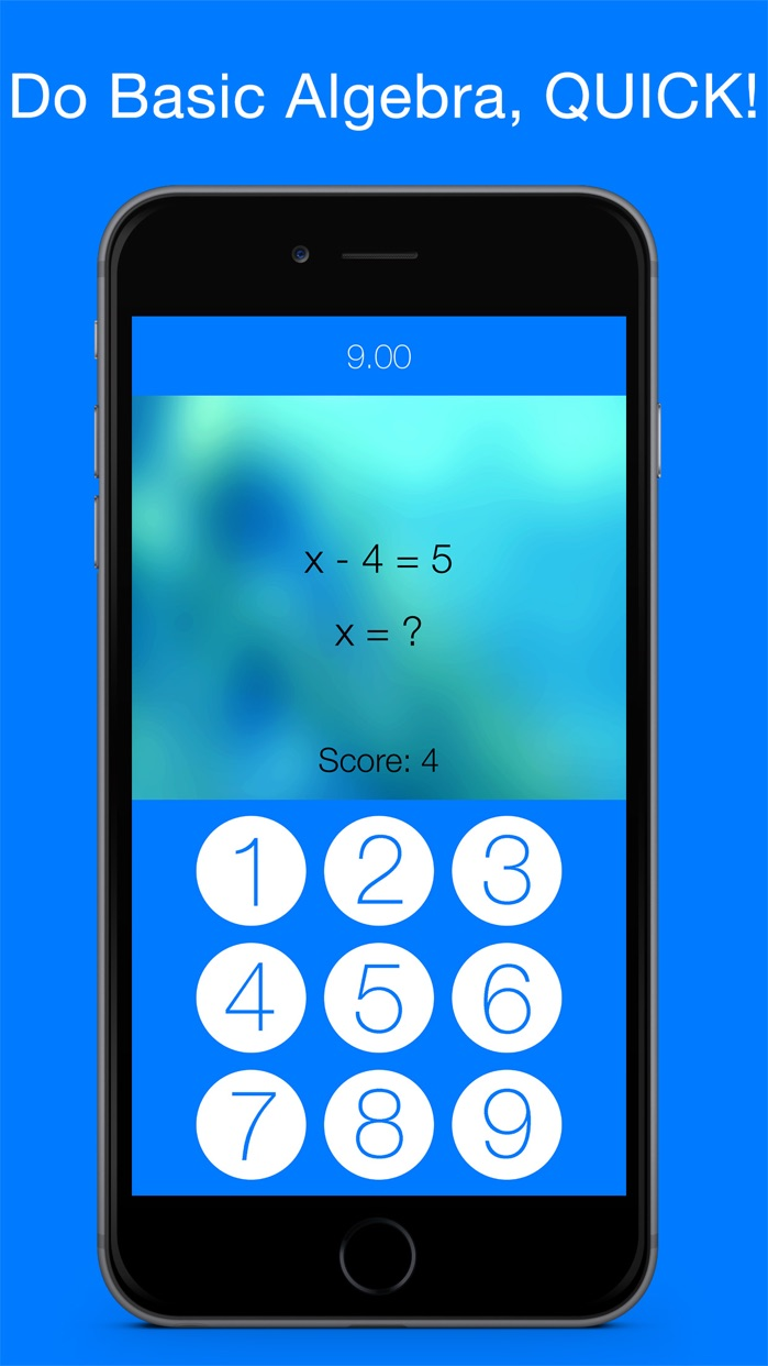Algebra Game with Linear Equations - Practice Math the Fun Way Screenshot