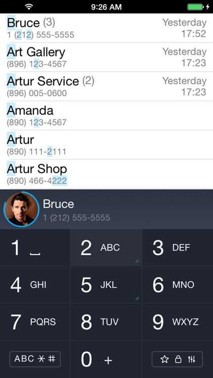 iCaller - T9 search contacts